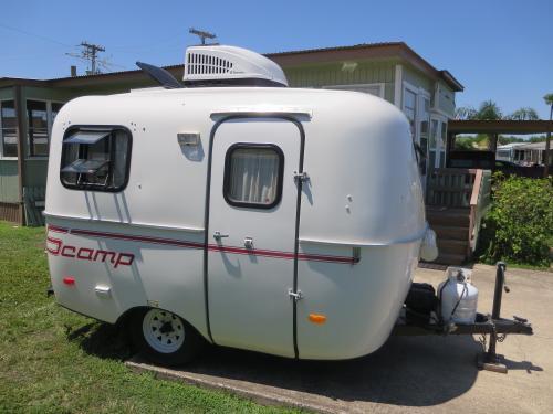 Expired Listing Scamp 2014 13 Foot Camper Travel Trailer 12500 Rio Hondo Tx Fiberglass
