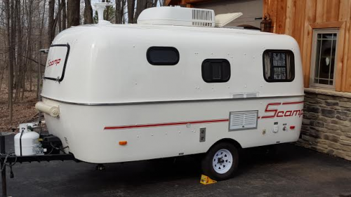 Sold 16 Scamp Travel Trailer 14 995 Rochester New