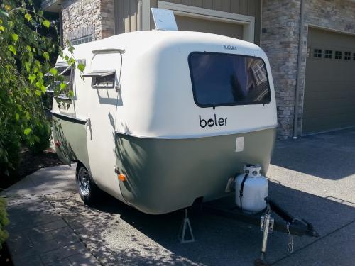 Sold 13ft 1974 Boler Camper Ca 7000 Squamish Bc Canada