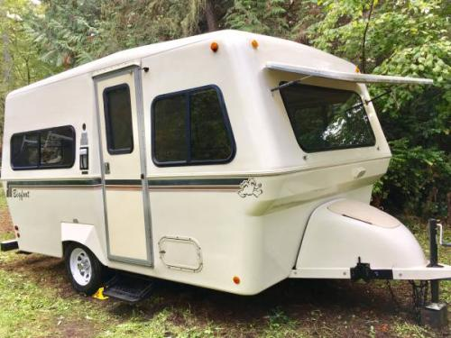 Travel Trailers For Sale Puyallup Wa >> SOLD - 1994 Bigfoot Fiberglass 17' Trailer- Clean - $11,500 - Puyallup, WA | Fiberglass RV's For ...