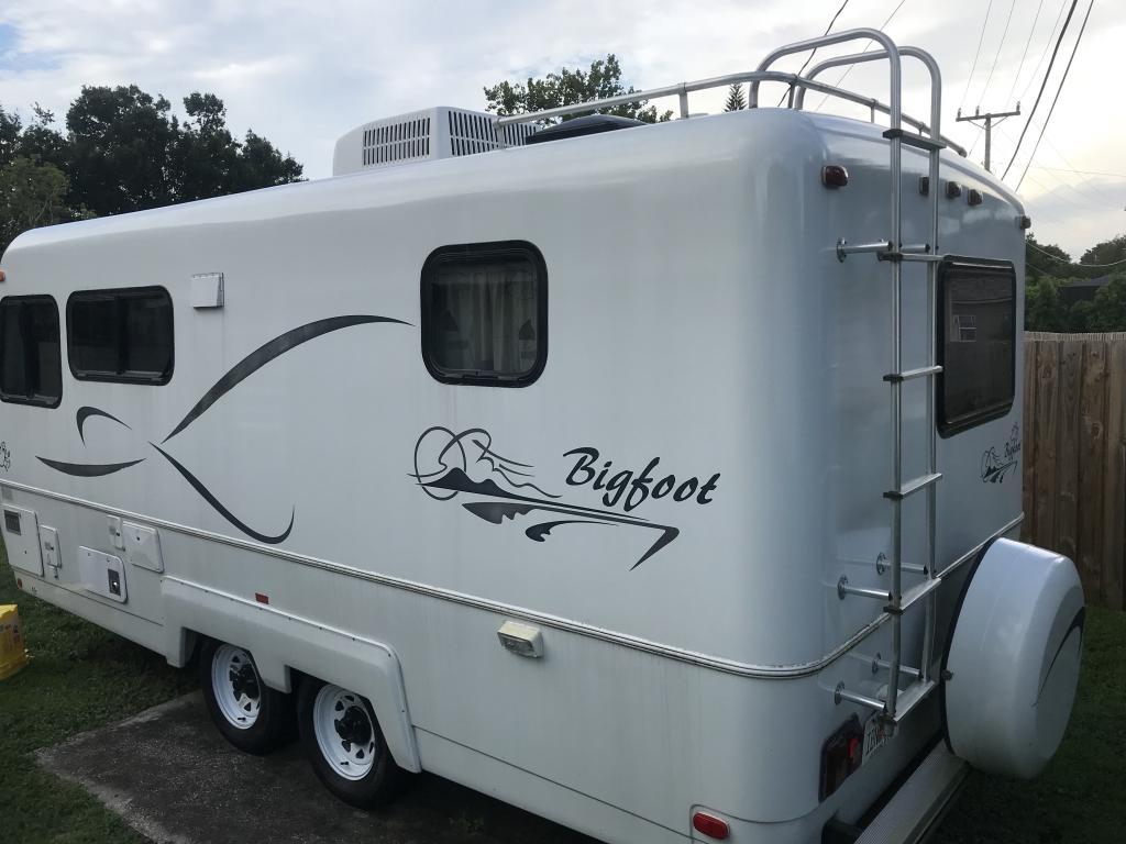 SOLD - 2002 Bigfoot 21' Camper - For Sale - $19500 - Lakeland, FL