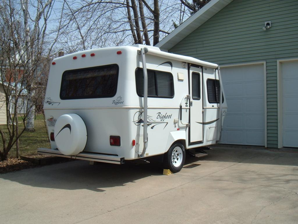 Sold - 2003 17 U0026 39  Bigfoot Travel Trailer -  12 750
