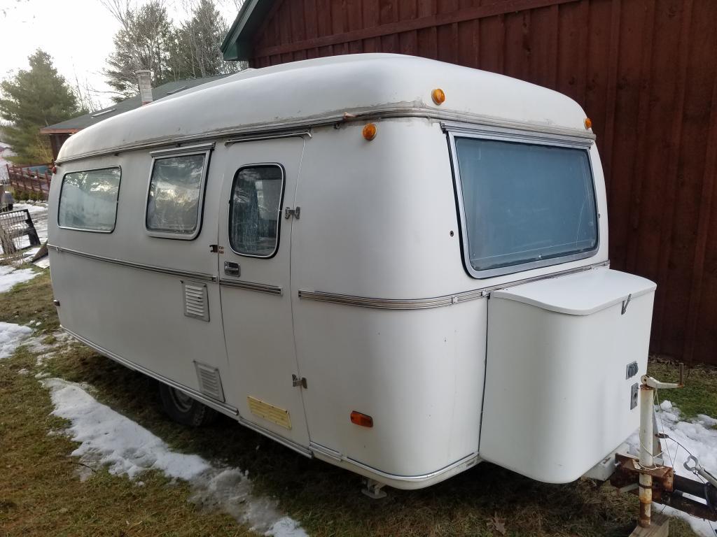 SOLD - 1972 MKP Grandesse fiberglass travel trailer ...