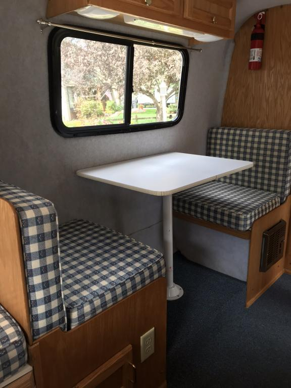 Sold 2002 Scamp Deluxe Travel Trailer 16 Ft Side