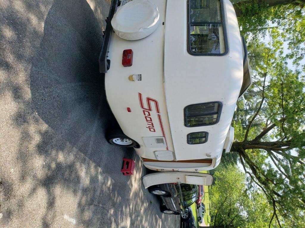 Expired Listing 2007 Scamp 16 Travel Trailer Ebay Buy It Now 12 500 Fredericksburg Va Fiberglass Rv S For Sale
