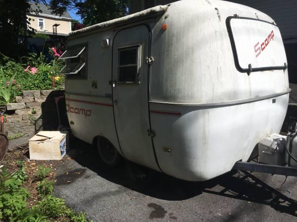 SOLD 1986 13' Scamp camper - $4800 - Kingston, NY ...