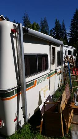Sold Bigfoot Rv Awning For Sale 90 Anmore Bc