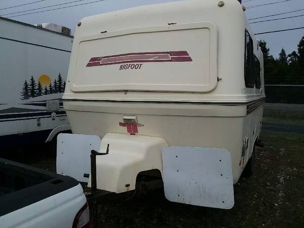 SOLD 1988 Bigfoot trailer - $3000 - Shelton, WA | Fiberglass