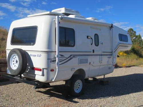 Sold 2013 Escape 5 0 Single Axle Fifth Wheel Trailer Winter Price Reduction 27 500 From 29 500 Central Montana Fiberglass Rv S For Sale