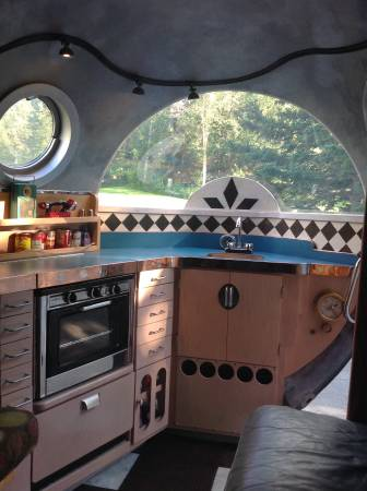 Rv Propane Stove >> SOLD - 2014 16' Self-Made Atomic Camper - Hillside, Anchorage, AK   Fiberglass RV's For Sale