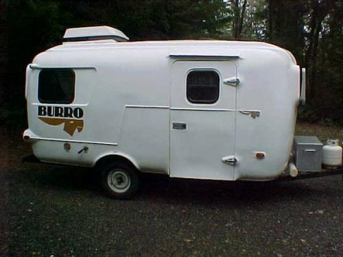 Sold 1986 17 Burro Fiberglass Travel Trailer 6850