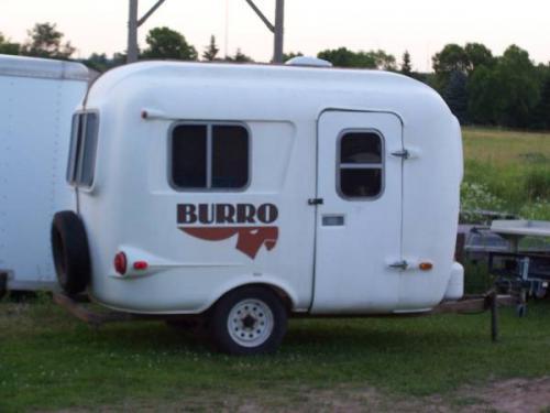 Fiberglass Camper Tops : Sold burro fiberglass camper  lake