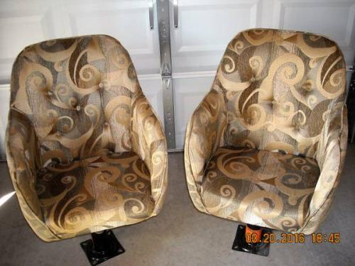 Delightful Two Captainu0027s Chairs From 2010 Casita Liberty Deluxe. New These Are $300.00  Each. You Can Get BOTH For Only $100. This Is A Really Good Deal.