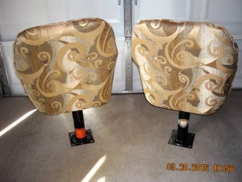 Two Captainu0027s Chairs From 2010 Casita Liberty Deluxe. New These Are $300.00  Each. You Can Get BOTH For Only $100. This Is A Really Good Deal.