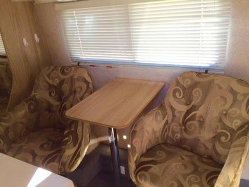 ... Nice Sized Closet, Full Bed, Captains Chairs And Table, Awning, Etc. We  Bought A Larger Travel Trailer To Accommodate Our Family, Thus Selling This  One.
