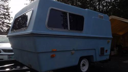 Retro Rv For Sale >> SOLD - Vintage Hunter Compact 2 Trailer - $4495 - Bend, OR | Fiberglass RV's For Sale