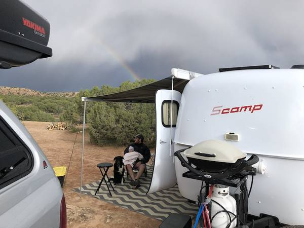 Sold 2016 Scamp 16 Fiberglass Camper Layout 6 With