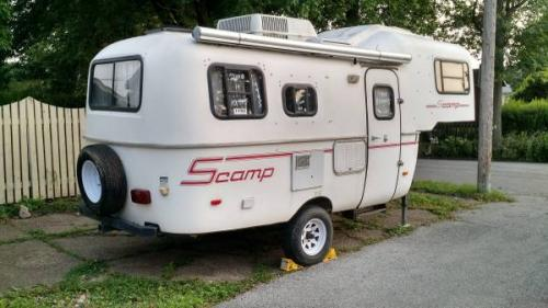 SOLD - 2010 Scamp 19' Fifth Wheel Travel Trailer - $9995 ...