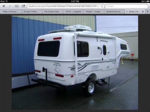 Sold 2013 Escape 5 0 5th Wheel Trailer 29 900