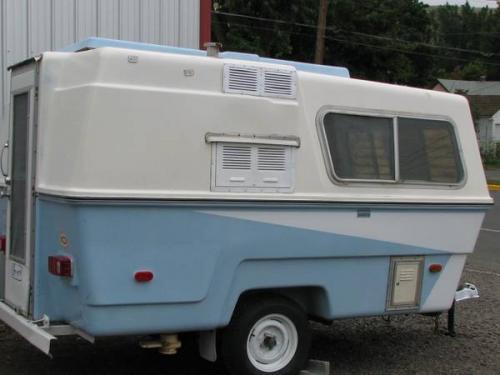 SOLD - 1974 13' Hunter Compact II molded fiberglass ...