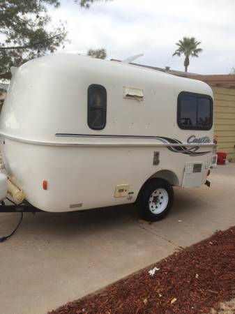 Sold 2002 13 Casita Patriot Trailer W Bathroom 10500