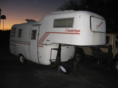 Sold 1983 19 Scamp Gooseneck Camper Trailer 4500