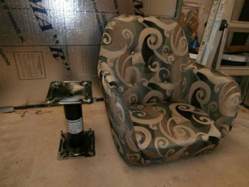 SOLD - Casita Swivel Chairs and pedestals - $285 ...
