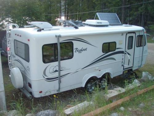 Sold 2005 Bigfoot 25b25rq Travel Trailer 27300 Can