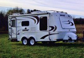 Sold 2008 Bigfoot 25b21fb 4 Season Travel Trailer Tandem