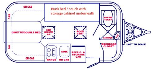 Sold 2014 Casita Spirit Dlx 17 W Bunk Beds 15900